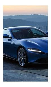 Blue Ferrari Roma 2021 2 4K 5K HD Cars Wallpapers | HD ...