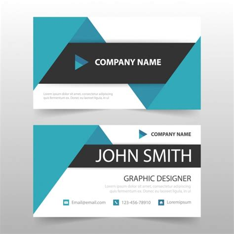 card template download free business card template design vector free download