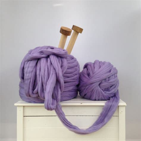 Extrem Dicke Wolle by Thick Yarn Bulky Epic Arm Knitting Kit