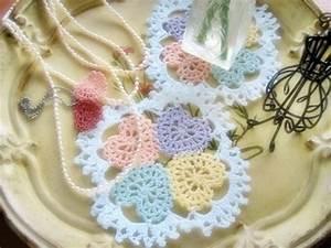 Crochet Hearts Doily Pattern  U22c6 Crochet Kingdom