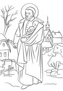 st vincent de paul coloring page  printable