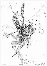 Coloring Winter Stress Anti Coming Pages Adults Zen Fairy Urielle Adult Mandala Colouring Books Colour Coloriages Adultes sketch template