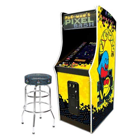 pac man pixel bash coin op  pac man stool game room guys