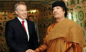 Tony Blair's grovelling letter to Colonel Gaddafi   Daily ...