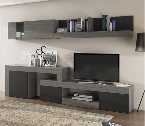 mueble comedor salon de  cm color sable  pizarra