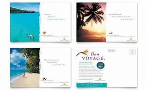 letterhead examples design travel agency brochure template design