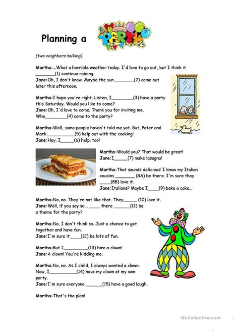 Will And Going To  Reading Comprehension Worksheet  Free Esl Printable Worksheets Made By Teachers