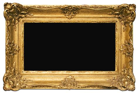 gold picture frames gold frame png search results calendar 2015