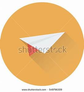 Yellow Paper Aircraft Paper Plane On Stock Photo 114270154 ...