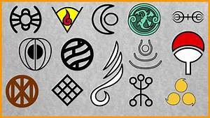 Naruto  All Clans  Symbols And Members  U2605