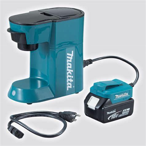 Makita   Product Details   DCM500 18V Cordless Filter Coffee Maker