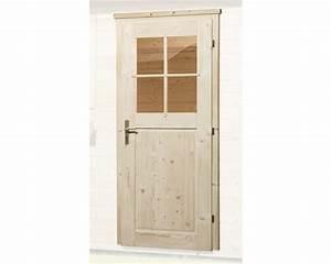 Holztür Für Gartenhaus : einzelt r f r gartenhaus 45 mm weka 97x203 cm natur kaufen ~ A.2002-acura-tl-radio.info Haus und Dekorationen