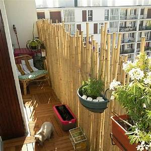 Balkon Sichtschutz Diy : bambus balkon sichtschutz bambusstangen sonennschutz holz fliesen diy projects screen diy ~ Whattoseeinmadrid.com Haus und Dekorationen