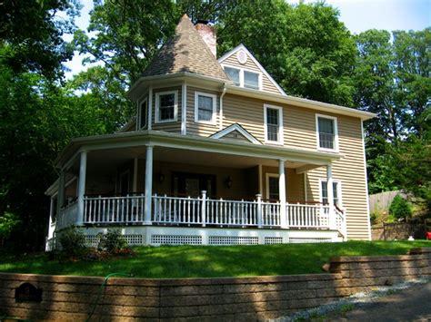 Cape Cod Home -- Front Porch And Victorian-esque Re