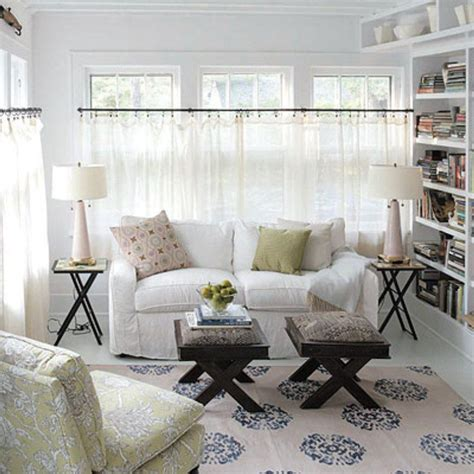Cafe Colored Living Room by White Cafe Curtains For Living Room For The Home Cafe