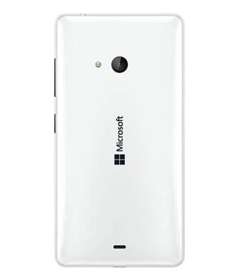 microsoft lumia 540 original back panel white plain