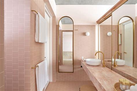 Favorite Pink-hued Bathrooms, Modern