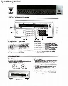 Digi Ds-688f User Guide Manual Pdf - The Checkout Tech