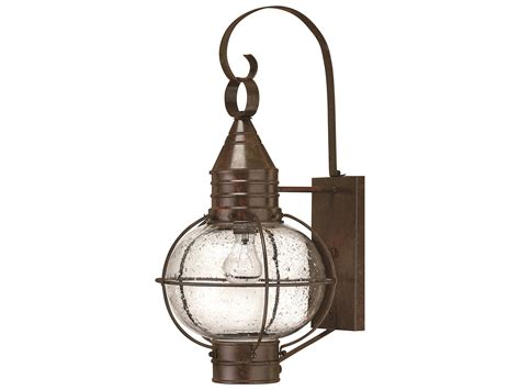 hinkley lighting cape cod bronze led outdoor wall