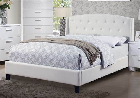 White Leather Tufted Headboard King by Master Bedroom Upholstered Tufted Headboard White Bonded