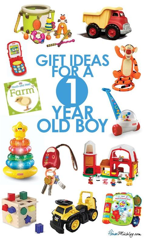present ideas for one year old boy kid s presents