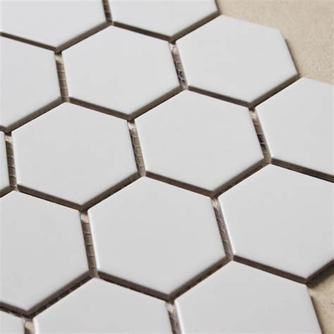 hexagon porcelain tile hexagon porcelain tile white matte porcelain tile non slip tile washroom wall tiles shower tile