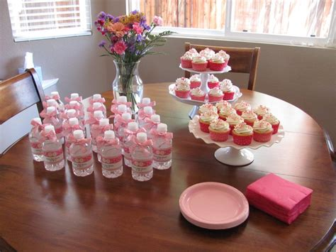 baby shower dessert ideas a baby shower for twin girls kristine s kitchen
