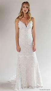 Romantique by claire pettibone spring 2017 wedding dresses for Robe romantique dentelle