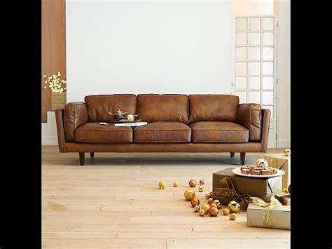 canap en cuire choisir un canapé cuir design pour le salon