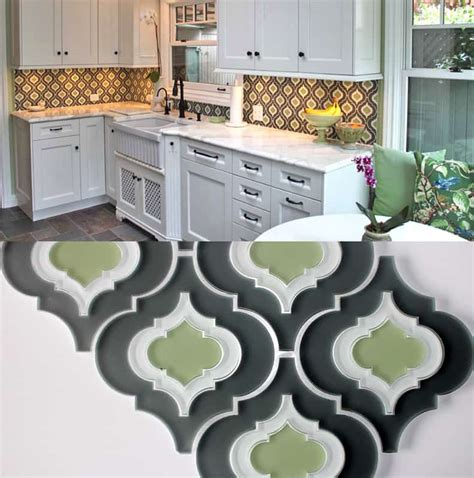 moroccan style glass tile  edgewater