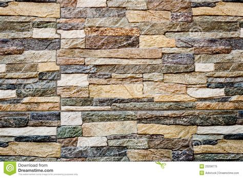Modern Stone Wall Background Texture Stock Image  Image