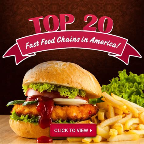 cuisine usa top 20 fast food restaurants in america webstaurantstore