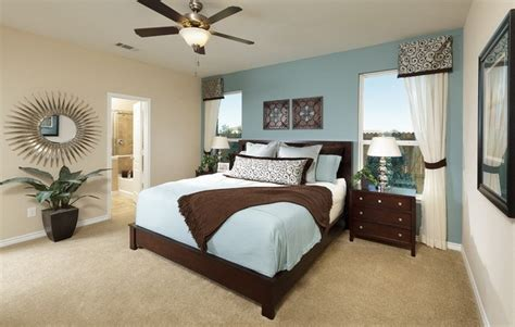 Soft Colors-blue-and-white-master-bedroom-color-scheme
