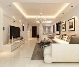 wohnzimmer decke beleuchtung abgehängte decke mit indirekter beleuchtung als dekoration