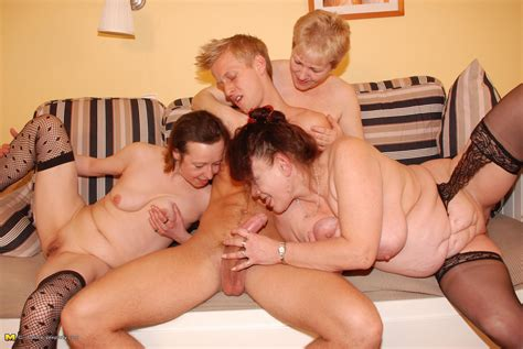 three horny mamas share one hard cock