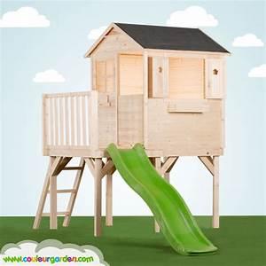 Cabane Toboggan Pas Cher : cabane enfants pas cher awesome nice cabane en bois ~ Dailycaller-alerts.com Idées de Décoration