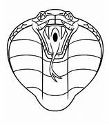 king cobra head coloring pages sketch coloring page