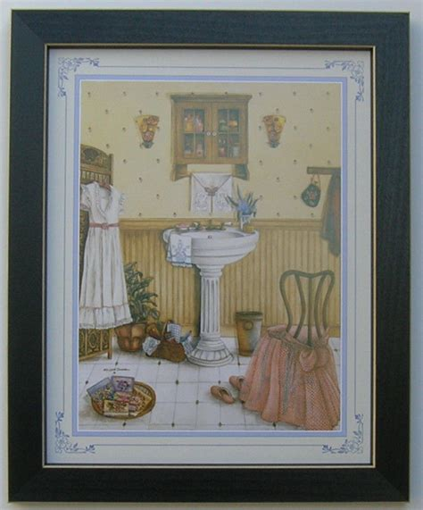 bathroom pictures framed country picture print art
