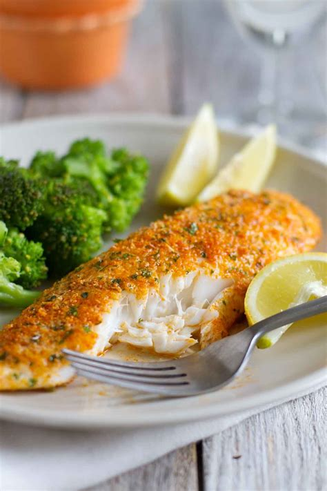 parmesan crusted tilapia an easy tilapia recipe that is