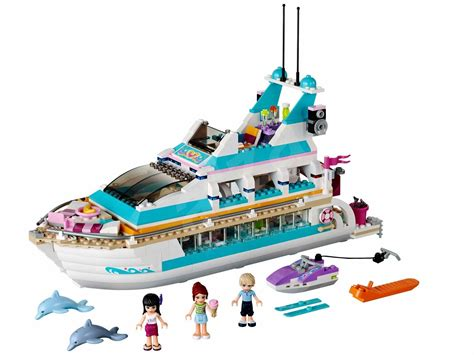 LEGO Friends 41015 Dolphin Cruise Ship - Building Kit | Alzashop.com