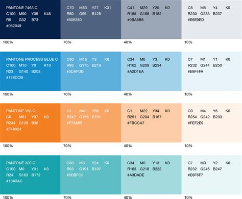 Best Colour by Print Colors Ucsf Brand Identity