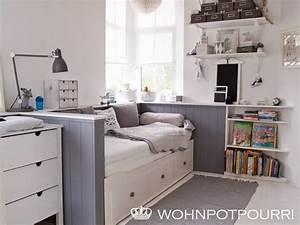 Gästezimmer Einrichten Ikea : ikea hemnes tagesbett umbau via wohnpotpourri ikea hemnes tagesbett pinterest room ~ Buech-reservation.com Haus und Dekorationen