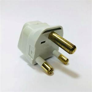 South Africa Plug Adapter Thick 3 Prong Type M Outlet Us To S  African
