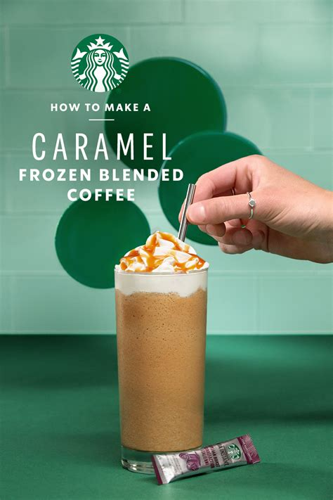 Delish has the best collection of recipes and menus online. Caramel Frozen Blended Coffee | Starbucks At Home US | Recipe in 2020 | Starbucks drinks recipes ...