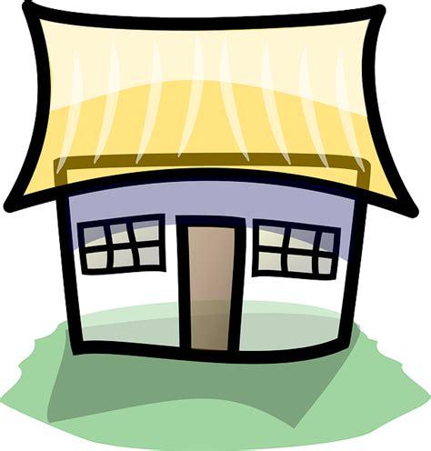 bangunan rumah pondok gambar vektor gratis  pixabay
