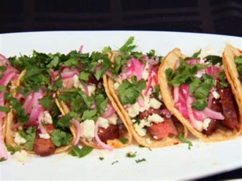 adobe beef tacos  pickled red onions small plates