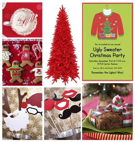 noted finestationerycom ugly christmas sweater party