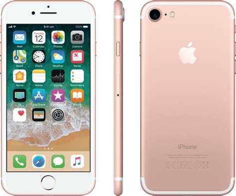Apple MN912X/A iPhone 7 32GB   Rose Gold at The Good Guys