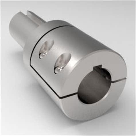 shaft adapter couplings step  type  keyways