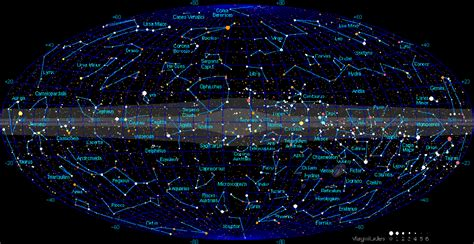The 88 Constellations Of The Night Sky